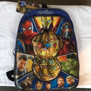 Marvel Avengers Backpack NWT Super Cool!